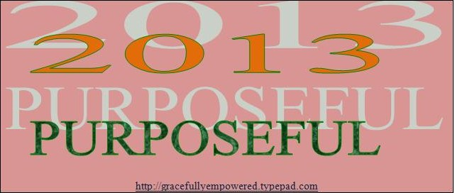 2013 Year of Purpose